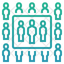 Sample Statistical Analysis People Icon