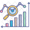 Business Performance Data Analysis Data Management Icon