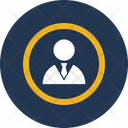 Business Person Businessman Manager Icon