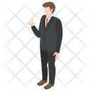 Business Person Avatar Icon