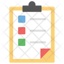 Paperwork Business Plan Survey Icon