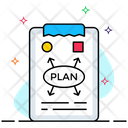 Business Plan Business Strategy Marketing Plan Icon