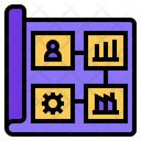 Business Plan Business Model Plan Icon