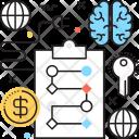 Business Plan Brain Icon
