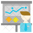 Plan Presentation Strategy Icon