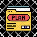 Plan Folder Color Icon