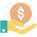 Business Plan Payment Coin Icon