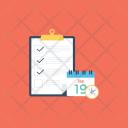 Business Planning Agenda Icon