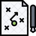 Business Plan Seo Icon