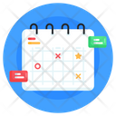 Business Calendar Business Planner Yearbook Icon