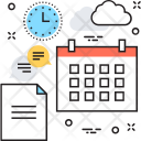 Business Planning Timetable Icon