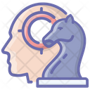 Business Planning Mind Strategy Business Scheme Icon