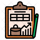 Businessplanning Plan Business Strategy Graph Analysis Businessgrowth Icon