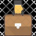 Business Portfolio Briefcase Case Icon