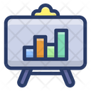 Business Presentation Statistics Business Chart Icon