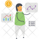 Business Presentation Business Statistics Business Infographic Icon