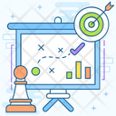 Tactical Plan Business Strategy Business Plan Icon