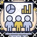 Business Presentation Public Presentation Class Icon