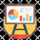 Business Presentation Graphical Presentation Data Analytics Icon