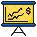 Chart Presentation Money Icon