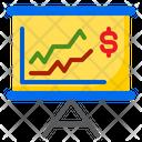Chart Presentation Money Icon