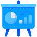 Presentation Analytics Board Icon