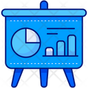 Presentation Analytics Board Icon