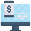 Internet Marketing Computer And Smartphone Money Icon