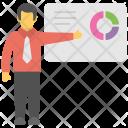 Business Presentation Pie Icon