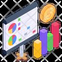 Business Presentation Statistics Business Chart Icon