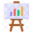 Business Lecture Business Presentation Business Analytics Icon
