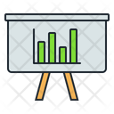 Business Presentation Presentation Statistics Icon