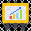 Business Presentation Graphical Presentation Statistics Icon