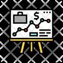 Business Presentation Presentation Stakeholder Icon