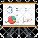 Business Presentation Presentation Graph Icon
