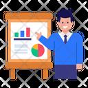 Business Workshop Business Presenter Business Presentation Icon