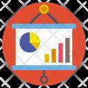 Statistics Data Account Icon