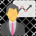 Business Presentation Success Icon