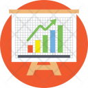 Graph Presentation Business Icon
