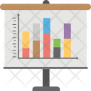 Business Presentation Bar Icon