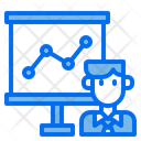 Bussiness Bussinessman Graph Icon