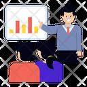 Business Workshop Business Presenter Office Presentation Icon