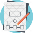 Business Process Diagram Icon