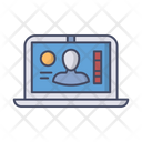 Laptop Business Profile Business Icon