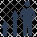Career Progress Promotion Icon