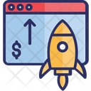 Business Promotion Digital Advertising Growth Hacking Icon