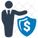 Business Protection Businessman Icon