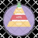 Business Pyramid Graph Icon