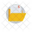 Bank Statement Business Report Cash Statement Icon