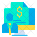 Finance Report Business Report Profit Report Icon